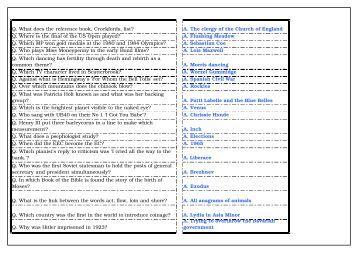 world general knowledge quiz pdf
