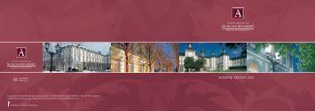 SCHÖNE ZEITEN 2012 - Grandhotel Schloss Bensberg
