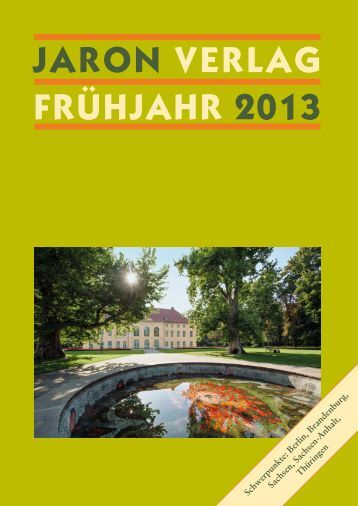 Jaron Verlag FrühJahr 2013