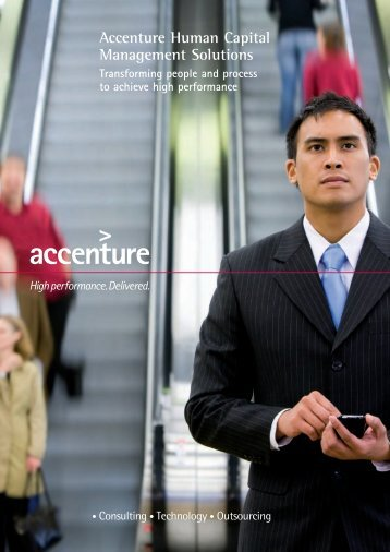 Accenture Human Capital Management Solutions