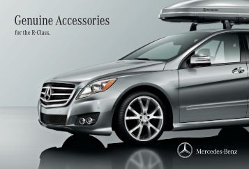 Genuine accessories for the vito mercedes for Ray catena mercedes benz