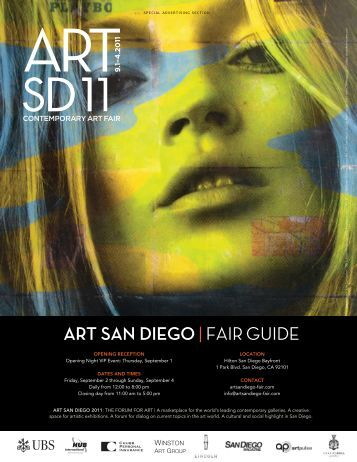 ART SAN DIEGO|FAIR GUIDE - San Diego Magazine