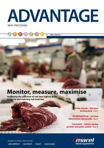 Monitor, measure, maximise - Marel