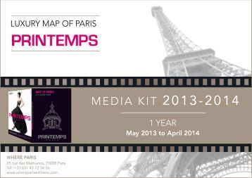 MEDIA KIT 2013-2014 - Where Paris