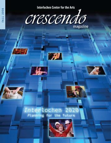 magazine - Interlochen Center for the Arts
