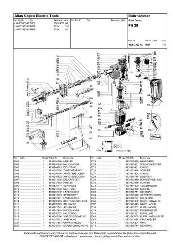 ph_38_bohrhammer_aeg, ersatzteile, ersatzteilzeichnungen ...