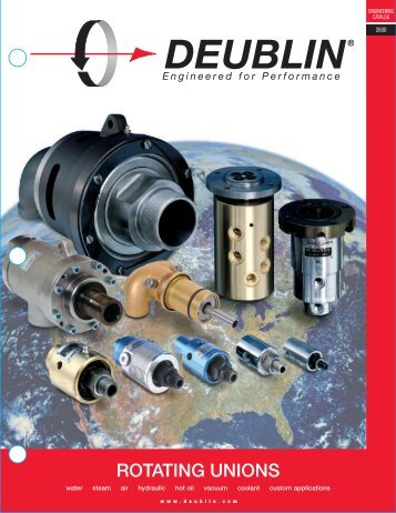 Engineered for Performance - Deublin Company