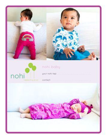 Spring '13 Baby Line Sheet - Mami & Babi