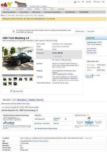 EMT - Keith Martin's Collector Car Price Tracker