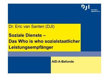 Soziale Dienste – Das Who is who sozialstaatlicher ...