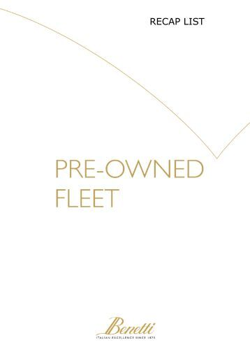 Pre-owned fleet list 09 August 2012 - Navark
