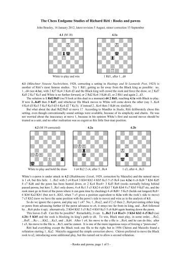 How to Study Chess - Home - US Chess