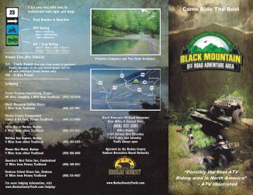 Trails for everybody - Harlan County, Kentucky