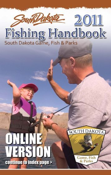 Paddlefish application south dakota department of game for South dakota game fish and parks