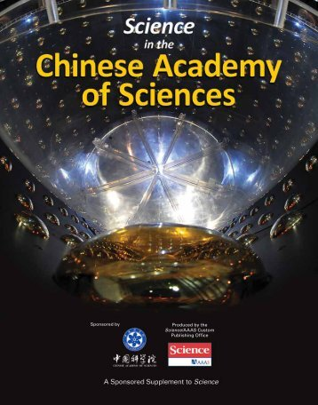 Chinese Academy of Sciences (PDF) - low res version