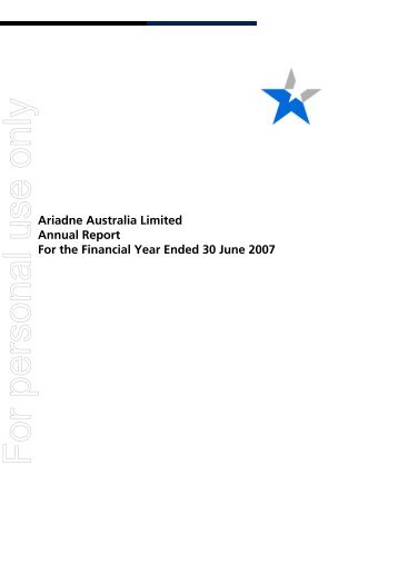 Notes to Financial Statements - Australian Stock Exchange