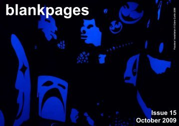 Issue 15 October 2009 - Blank Media Collective