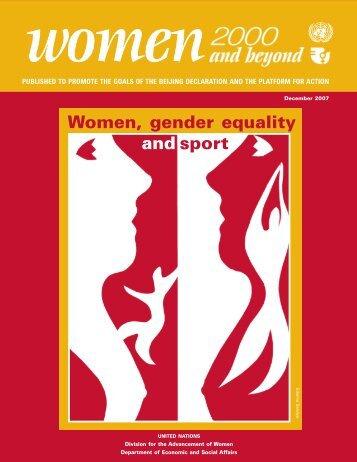 Women, gender equality and sport