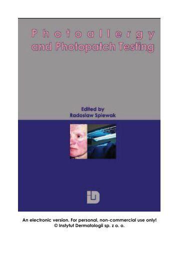 Photopatch test method - DIASeries
