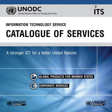ITS Catalogue of Services