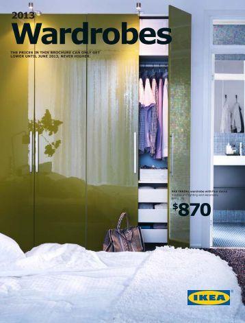 IKEA Brochure Wardrobes 2013 EN US