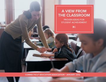 A view from the clAssroom - Connecticut Education Association