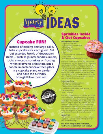 Cupcake FUN! - iParty