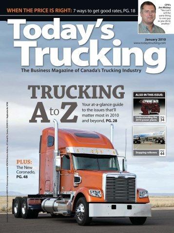 In Gear - Today's Trucking