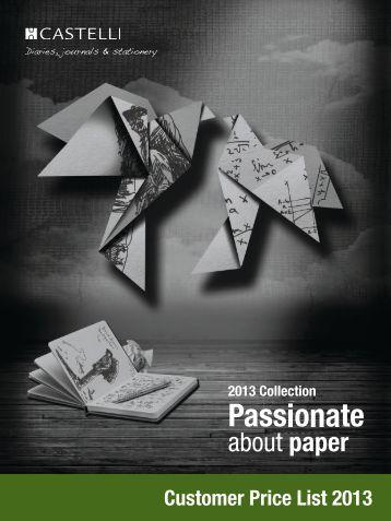 Your Castelli Price List - Preston printing, NCR Books, Promotional ...