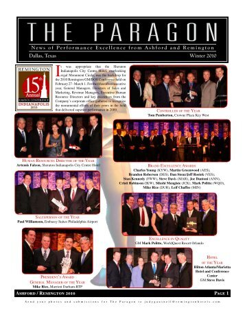 The Paragon - Remington Hospitality Services