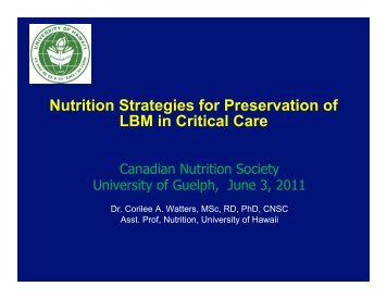 download - Canadian Nutrition Society