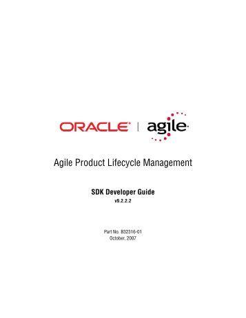 Agile SDK Developer Guide - Oracle