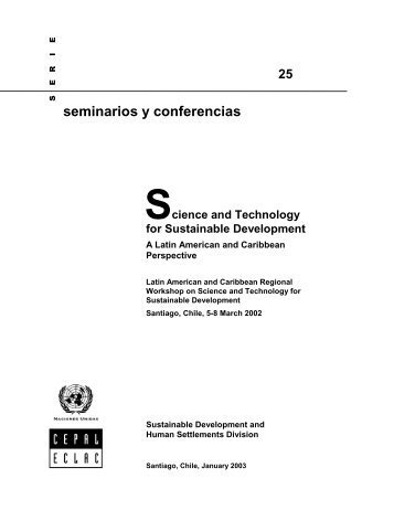 essays on science and technology for sustainable development