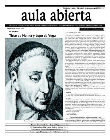 Tirso de Molina y Lope de Vega - DiarioCoLatino.com