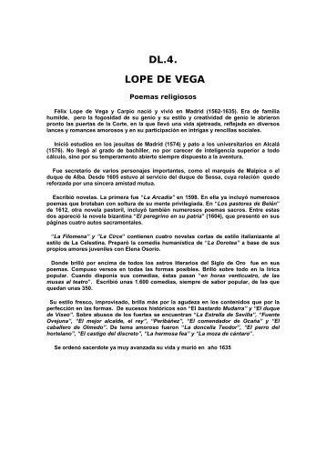 LOPE DE VEGA - La Salle