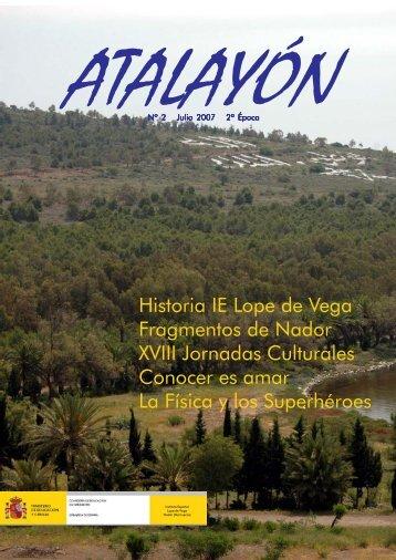 Historia IE Lope de Vega Fragmentos de Nador - Ministerio de ...