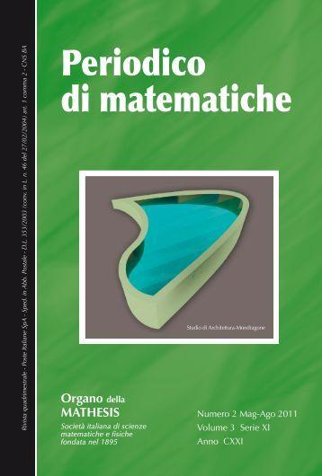 Periodico di matematiche