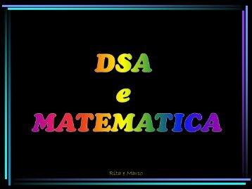 DSA e matematica