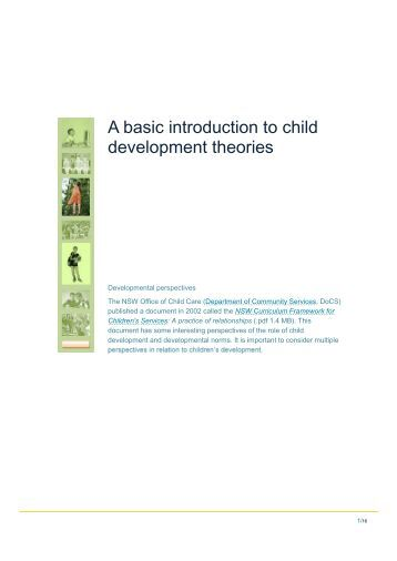 an introduction to developmental theories Entrepreneurship, innovation and regional development: an introduction book  cover  postcolonialism, decoloniality and development book cover.