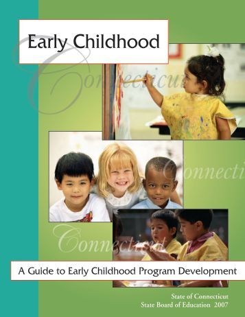 Early Childhood - Connecticut State Department of Education