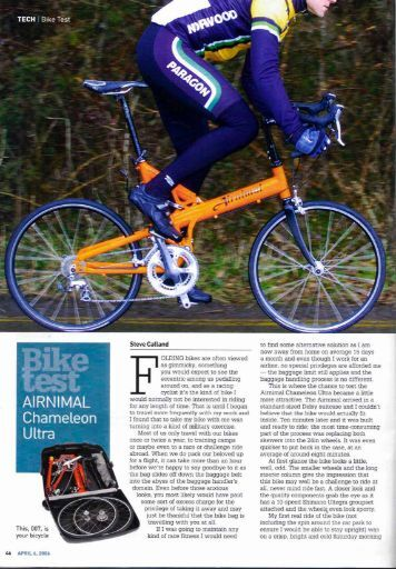 TECH I Bike Test - Airnimal