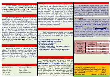 Water Management for Sustainable Develop - Dr.Babasaheb ...