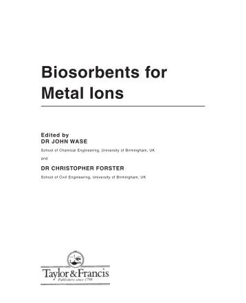 metallic ions lab report Introduction to coordination chemistry introduction these metal ions in this laboratory, you will explore some of the coordination chemistry of copper, iron.