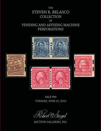 View the catalogue as a PDF file - Robert A. Siegel Auction Galleries ...