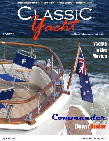 Spring 2007 - Classic Yacht Magazine