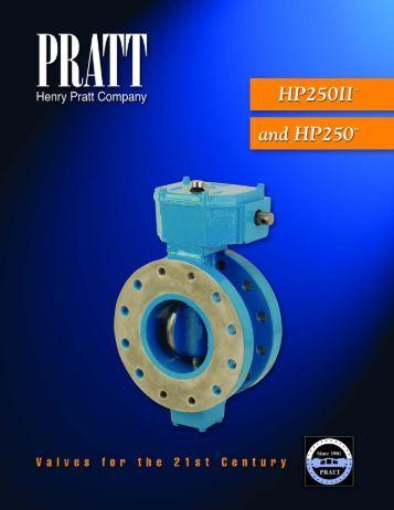 HP-250 Butterfly Valve - Henry Pratt Company