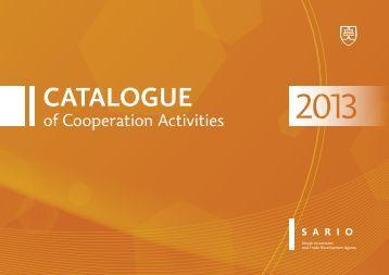 Catalogue - Sario