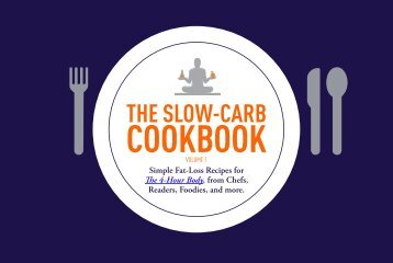 The Slow-Carb Cookbook - Robb Wolf