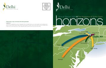 Delhi, NY - SUNY Delhi Alumni Association