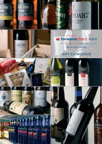 GIFT CATALOGUE - Farsons Direct